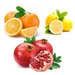 Arance, limoni e melagrane