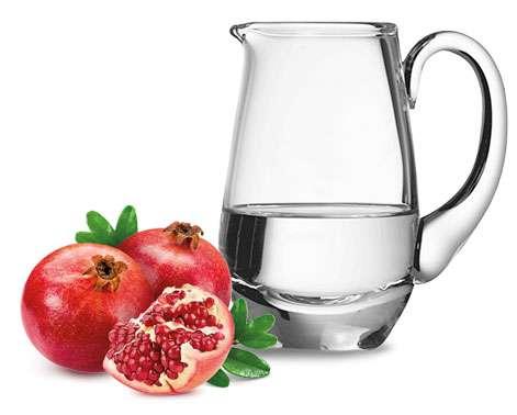 Ingredienti acqua alla melagrana detox
