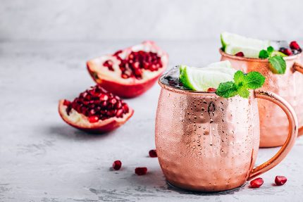 moscow mule melograno